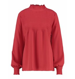 Studio Anneloes Daisy satin smoq blouse