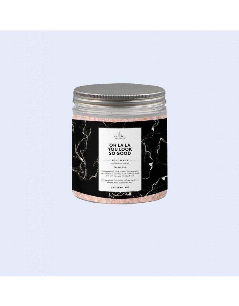 The Gift Label Himalayan Scrub - Mandarin Musk Good