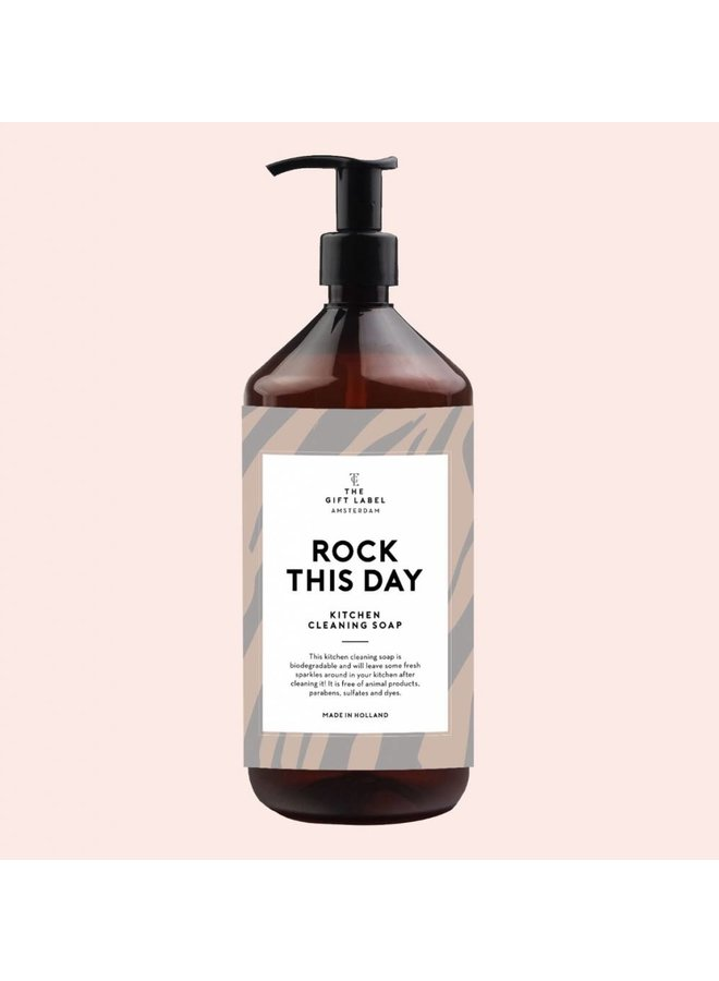 Kitchen Cleaning soap - Rock this day