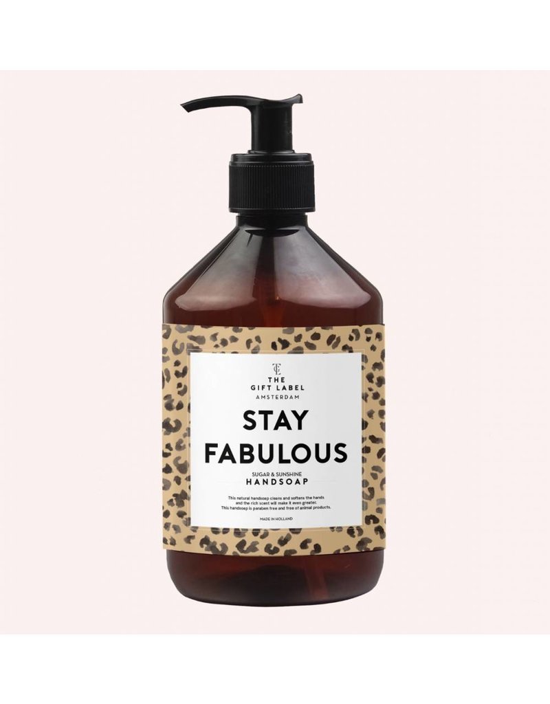 The Gift Label Hand Soap 500ml - fabulous