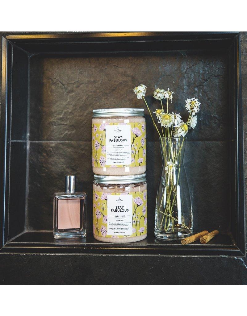 The Gift Label Himalayan Scrub - Mandarin Musk Fabulous