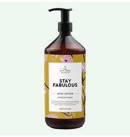 The Gift Label Body Lotion - Mandarin Musk Fabulous