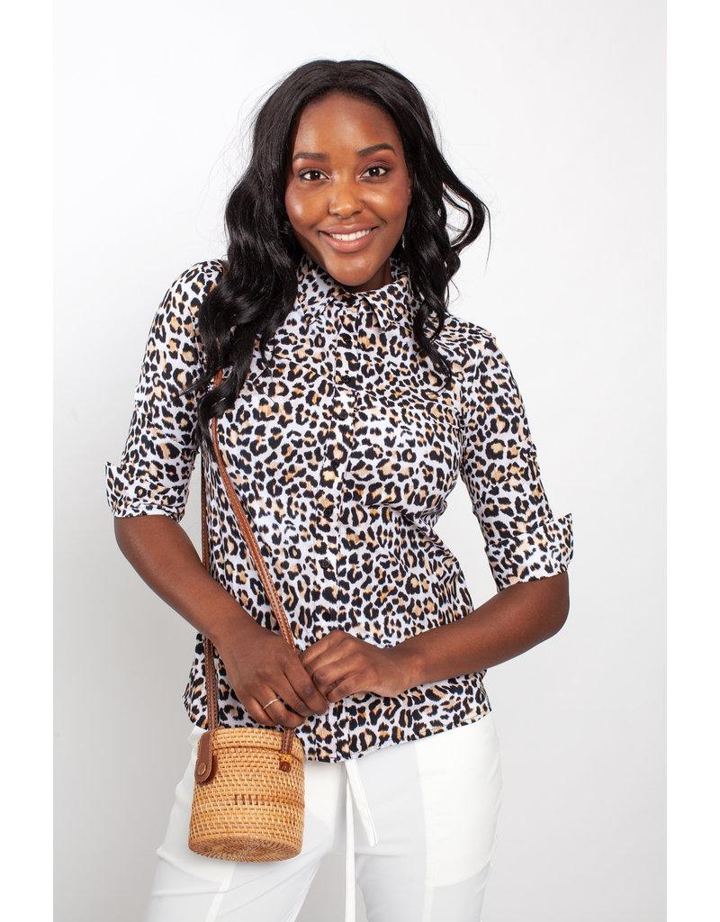 Studio Anneloes Poppy leopard shirt