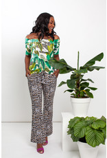 Studio Anneloes Flair leopard trousers
