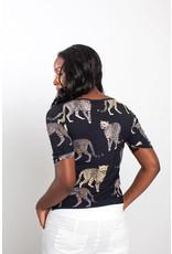Studio Anneloes Ticky print shirt