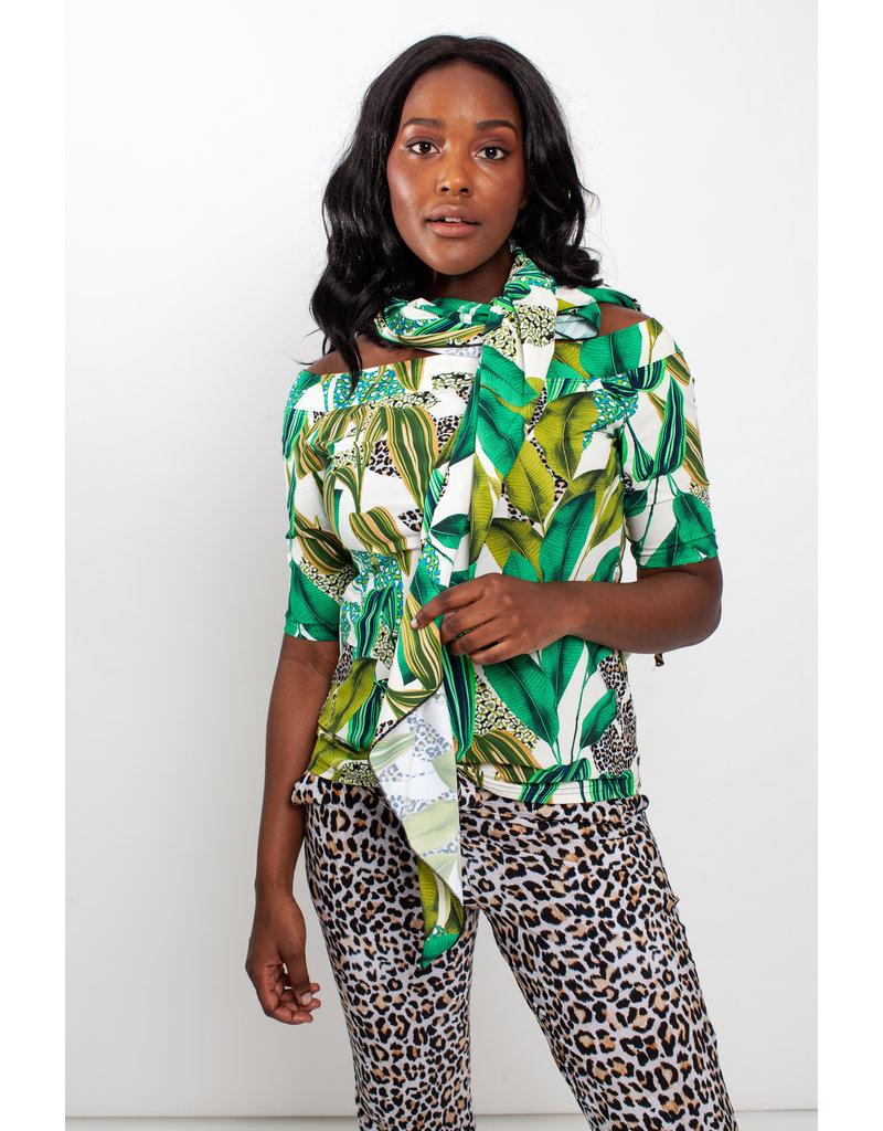 Studio Anneloes Triangle print scarf