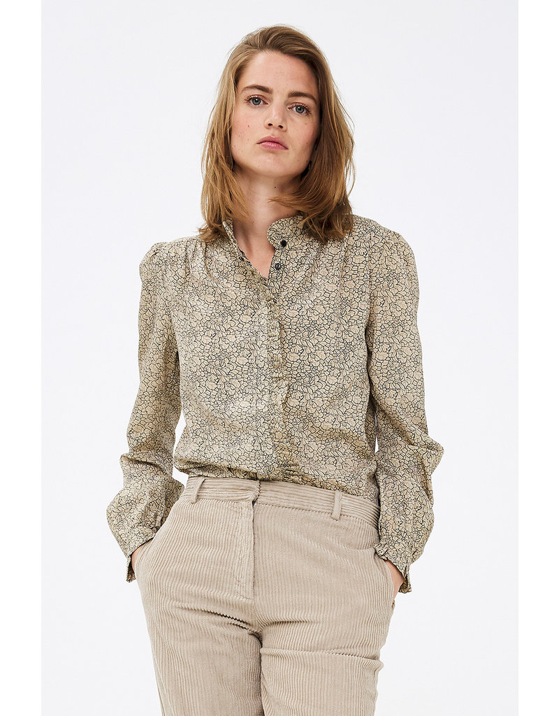 BY-BAR Lizzie flower blouse