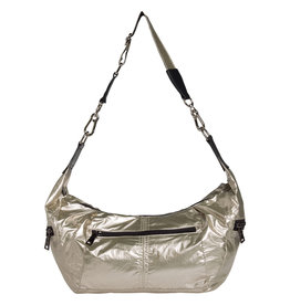 10 Days Cross body bag big metallic