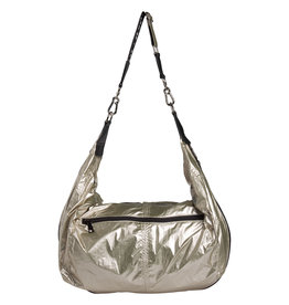 10 Days Cross body bag small metallic