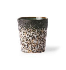 HK Living Ceramic 70's mug: mud