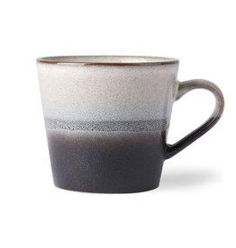 HK Living Ceramic 70's cappuccino mug: rock