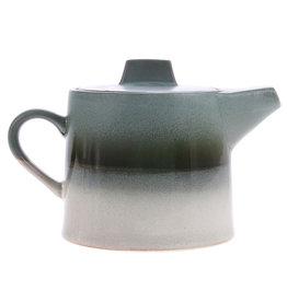 HK Living Ceramic 70's teapot: glacier