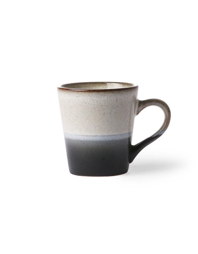 HK Living Ceramic 70's espresso mug: rock