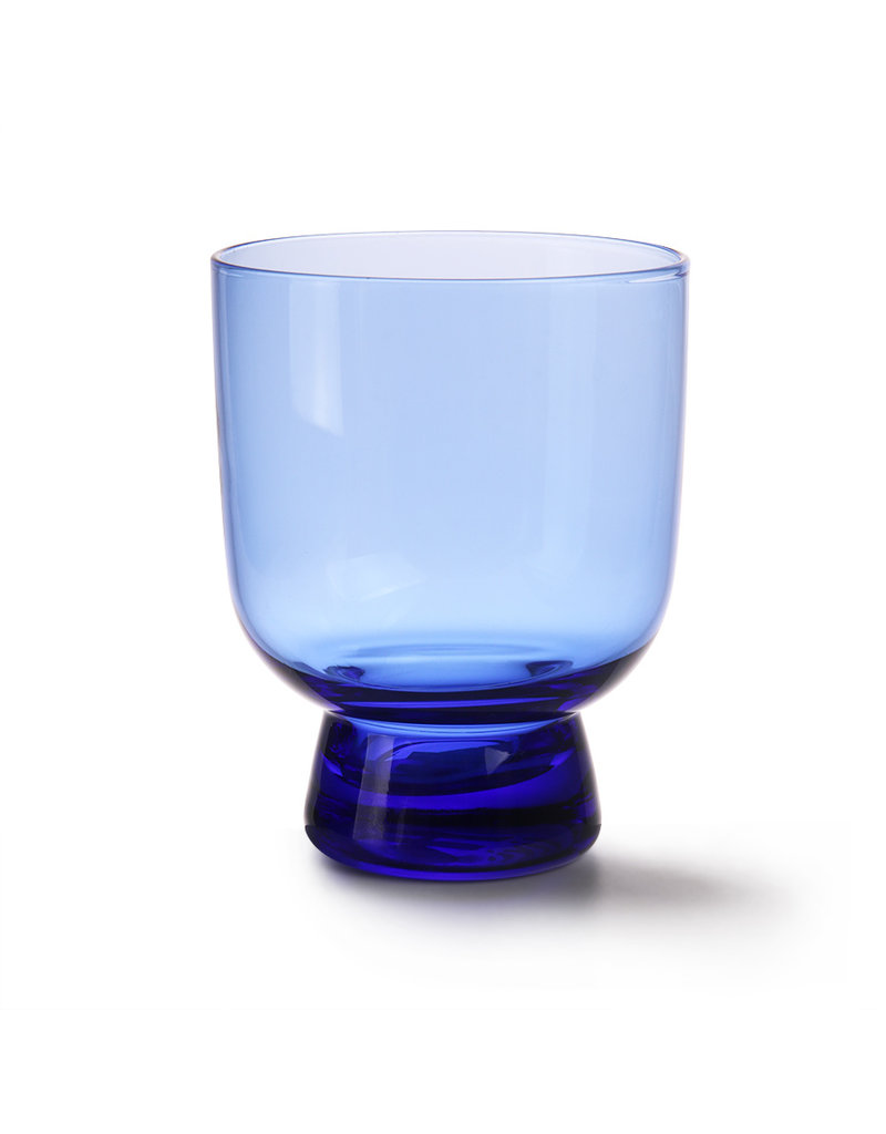 HK Living Cobalt glass M