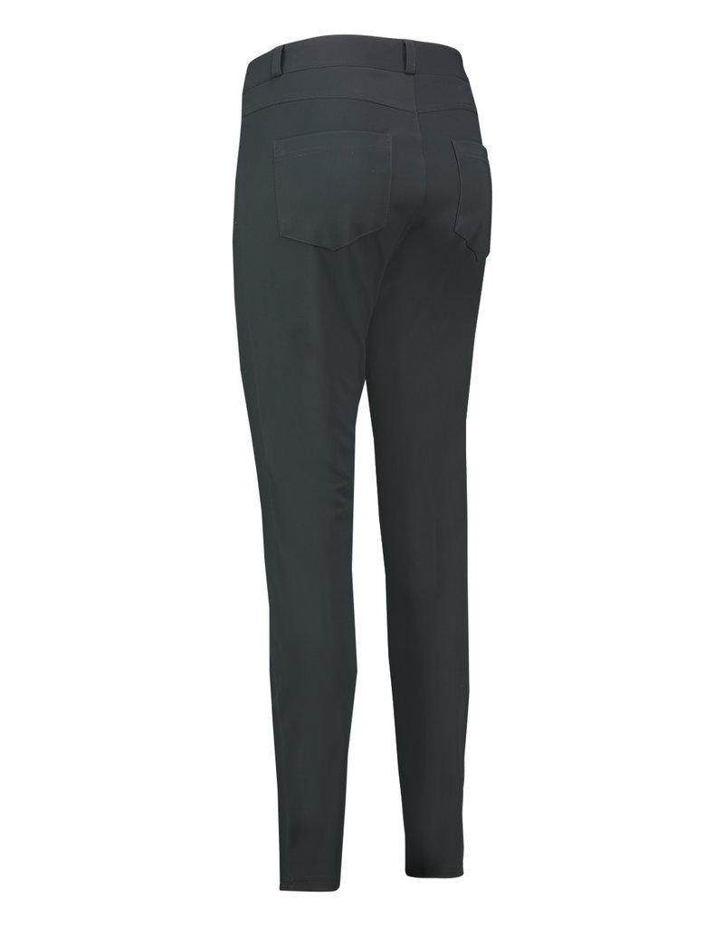 Studio Anneloes Five pocket bonded trousers grijs