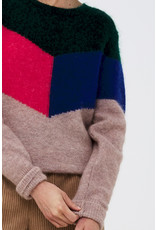 BY-BAR Sara colorblock pullover