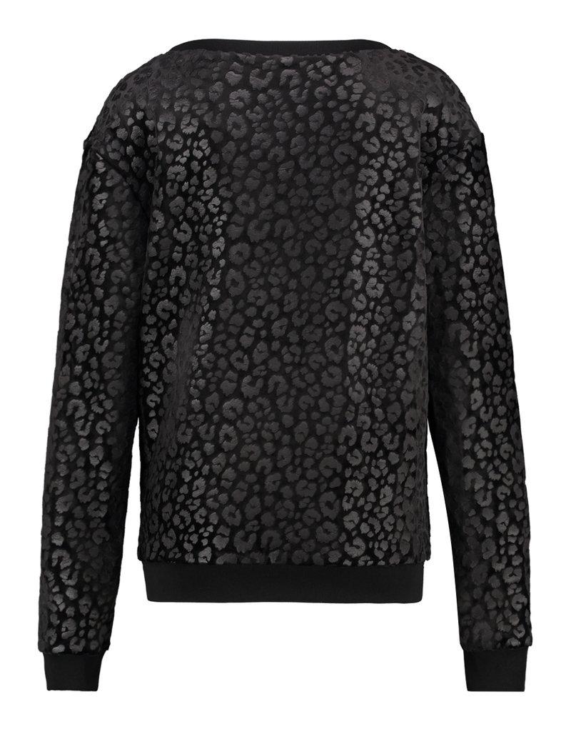 Studio Anneloes Pamina velvet leo sweater