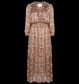 Dante 6 Bardon printed chevron dress