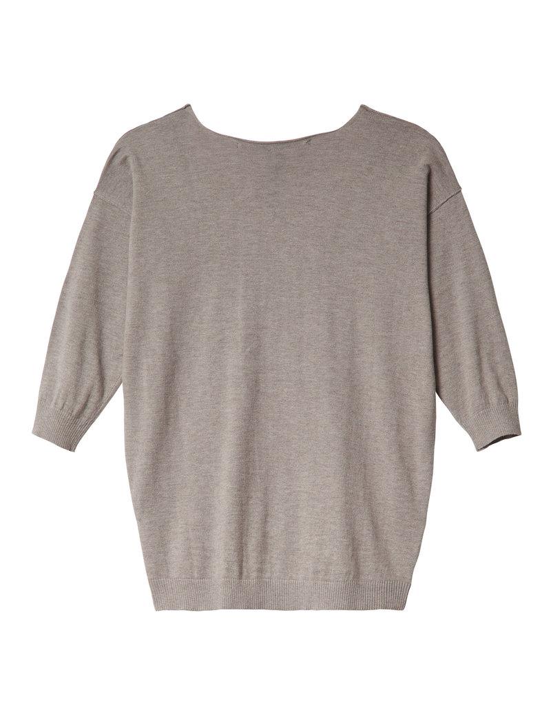 10 Days 20-607-0201 V-neck sweater clay
