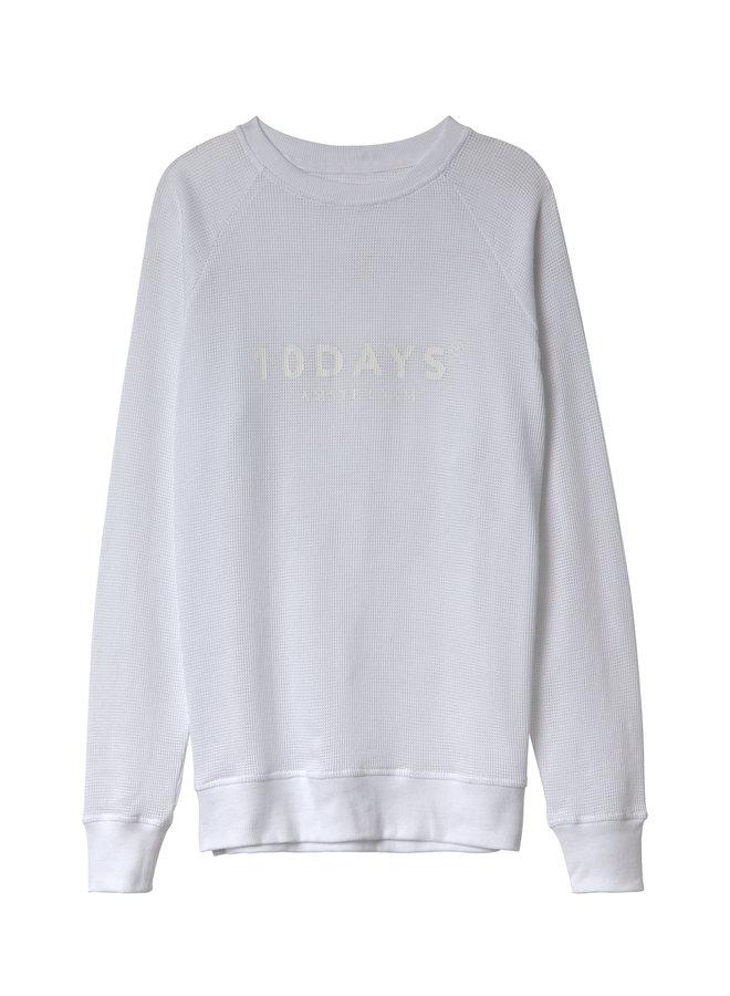 20-803-0201 sweater mesh - white