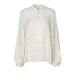 Second Female Karo LS blouse