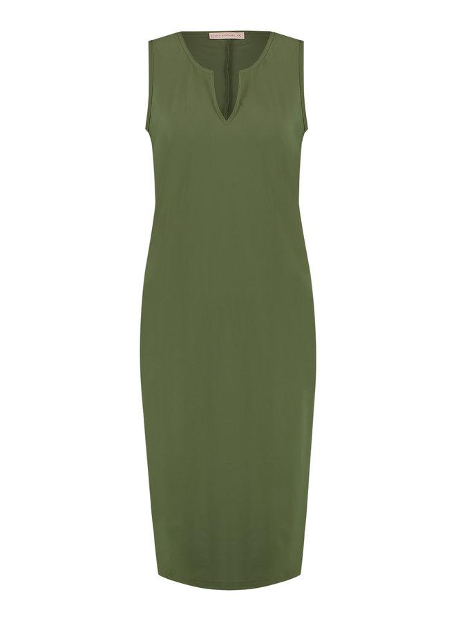 Simplicity SL Dress - Army