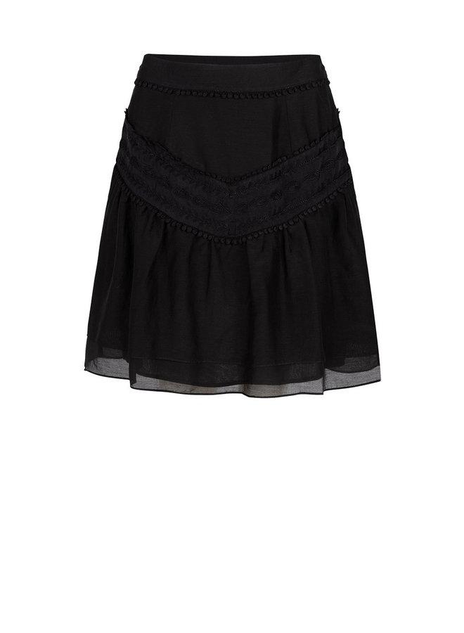 Loubi embroidery skirt