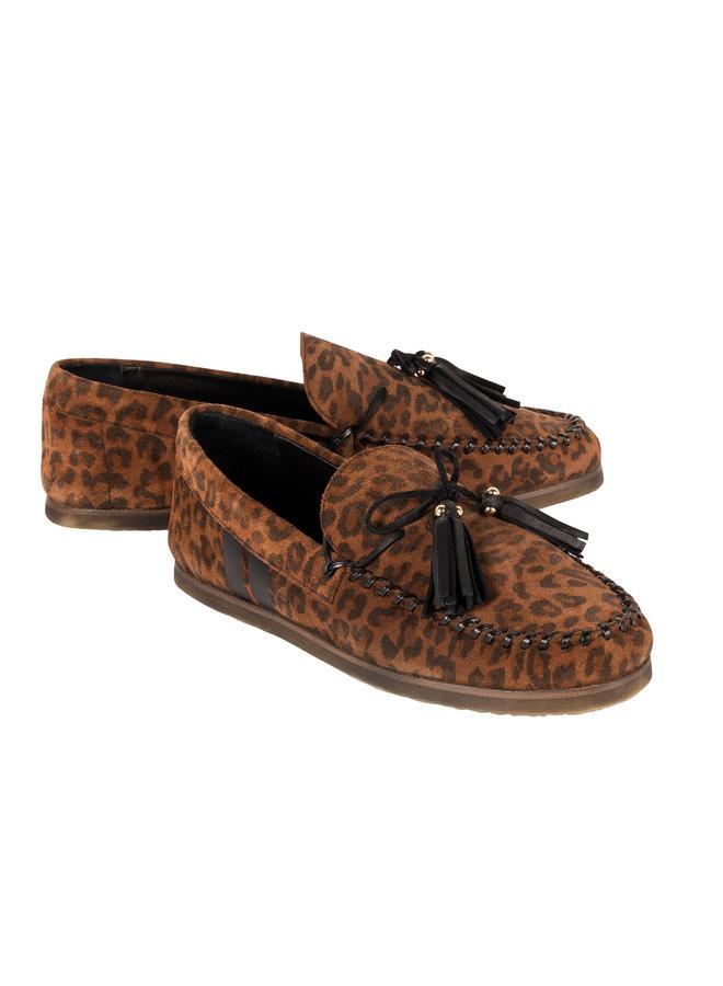 20-934-0203 Mocassin leopard