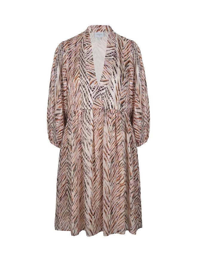 Sulmona print dress