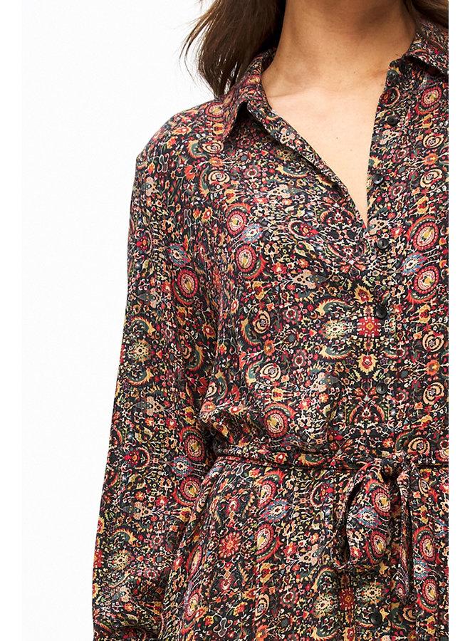 Yara indian flower dress - multi