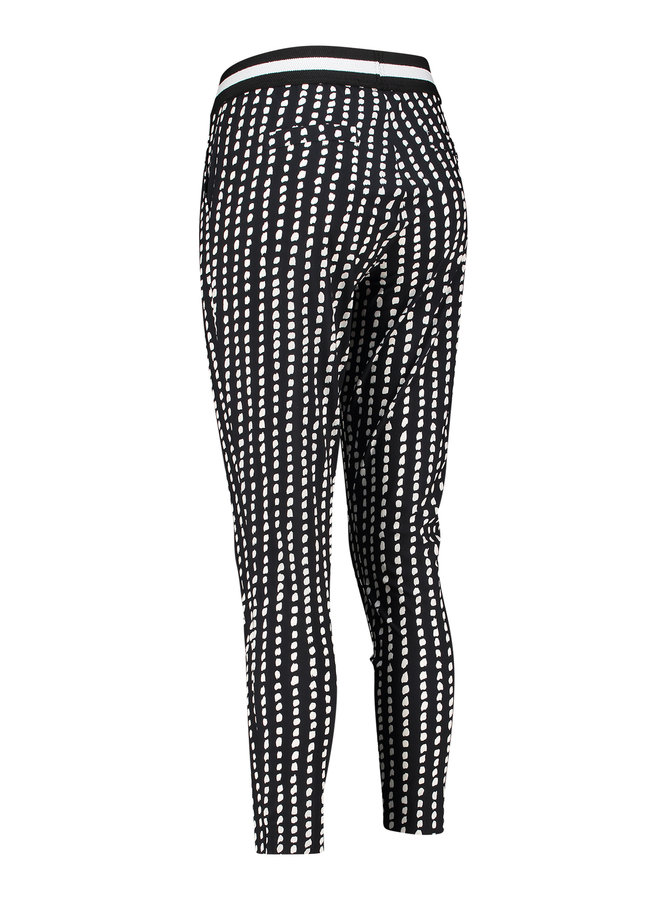 Floria dotted line trousers