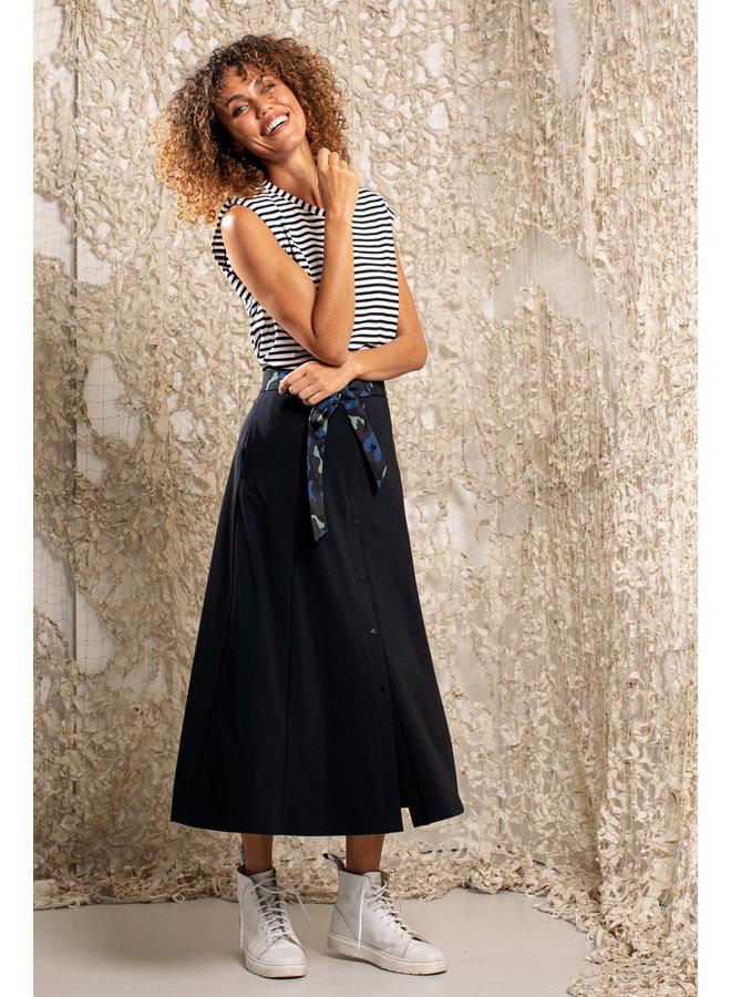 Suze Skirt - Dark blue