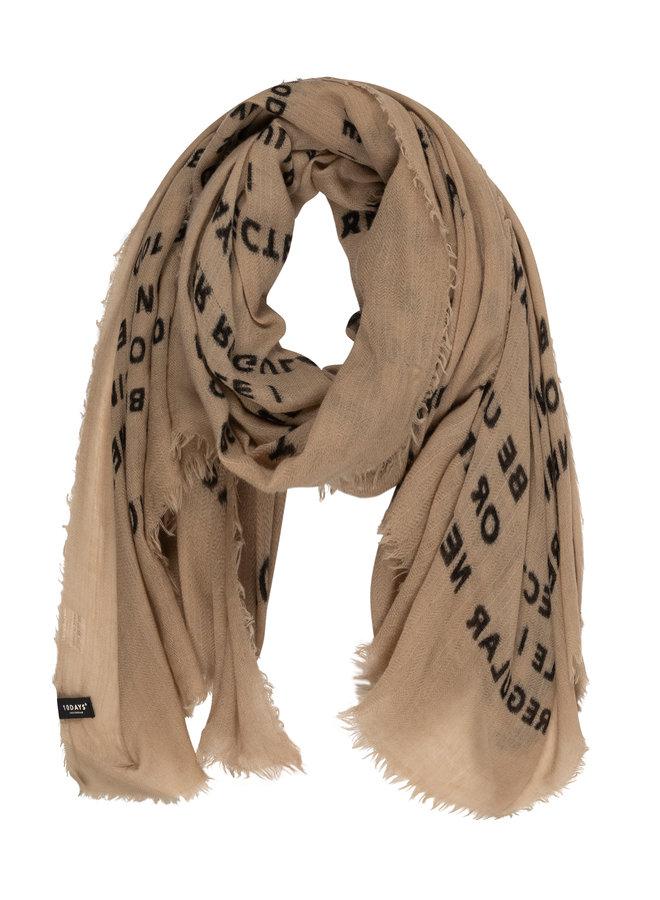20-914-0203 scarf slogan - safari