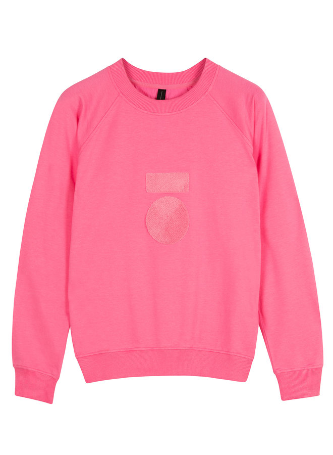 20-804-0204 sweater terry - candy pink