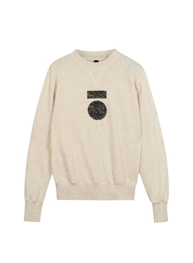 20-800-0204 Icon sweater - sof white melee