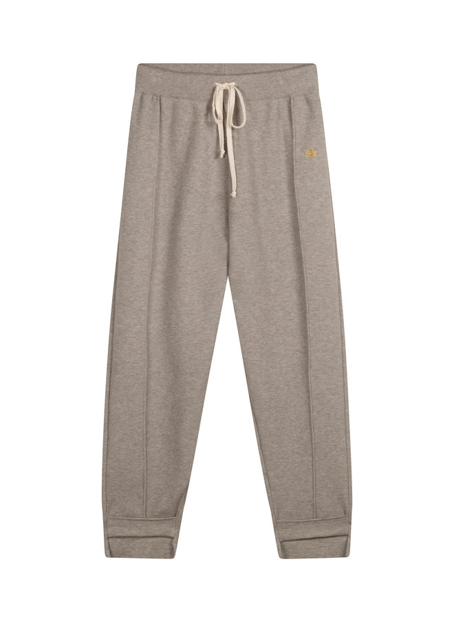 20-604-1201 Knitted pants - light grey