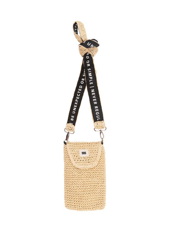 20-962-1202 small pouch straw - soft beige