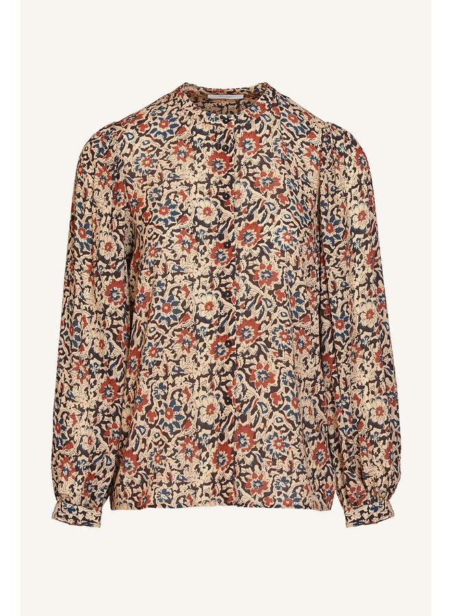 Rikki  flower blouse - flower