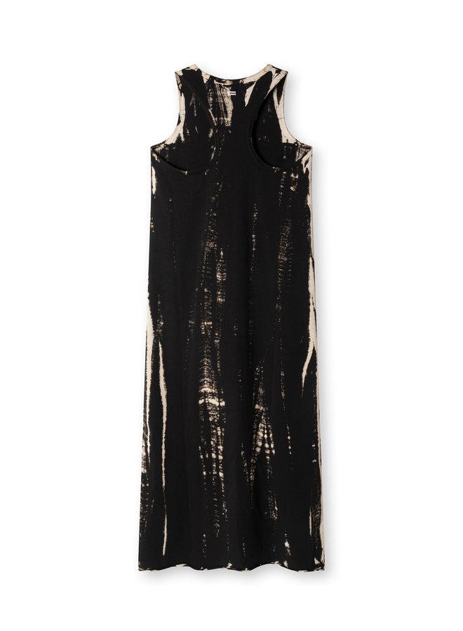 20-301-1203 dress bamboo dye - black