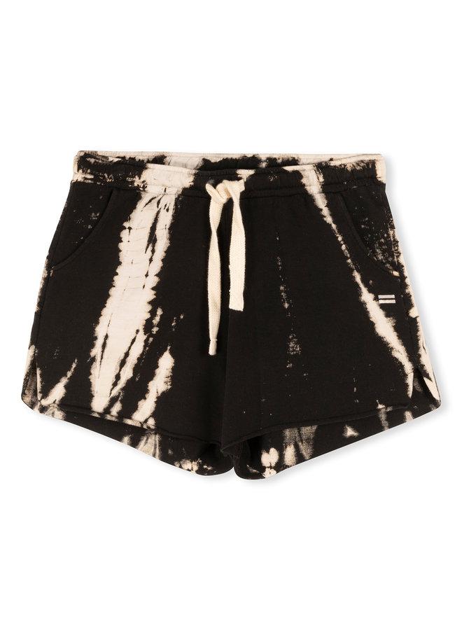 20-201-1203 shorts  bamboo dye - black