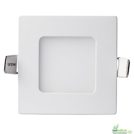Optonica Led Spot Lars - 3 watt - inbouwspot - slimLine - Warm  wit - 2800k