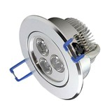 OutledTL 3 watt Dimbare  LED Spot RVS | Warm wit 2700K