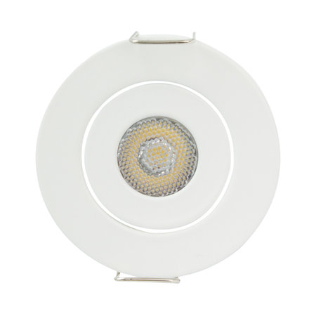 OutledTL Mini LED Inbouwspot Owen - 1 watt - Wit - rond - 4000K- neutraal wit