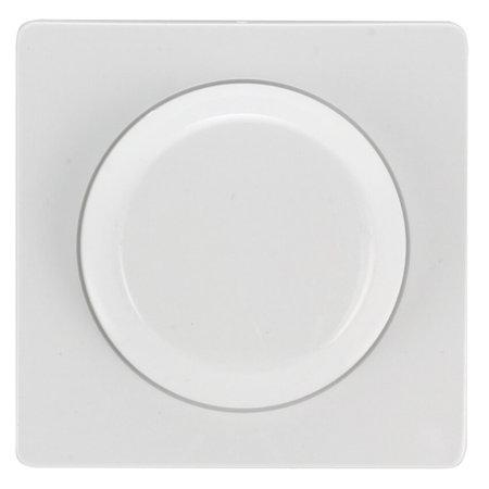 OutledTL Gira draai/drukknop voor dimmer -  Wit - Inclusief afdekraam