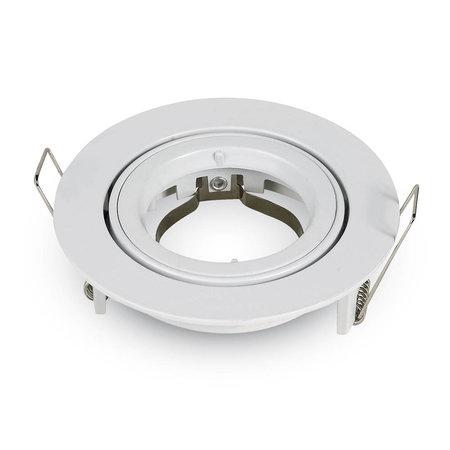 Philips LED Inbouwspot Mohammed - Dimbaar - Philips - Mat wit