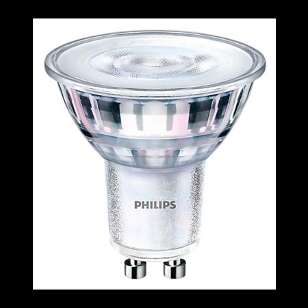 Philips 4  watt Dimbare  Philips Kantelbare LED Inbouwspot Dave  | Zilver RVS Rond