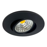 OutledTL Led Spot Sjors - 3 watt - Dimbaar - Zwart - Warm wit - 2700K