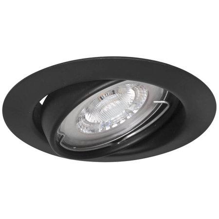 Philips LED Spotjes Damian - Set van 3 stuks -  Dimbaar - Mat zwart