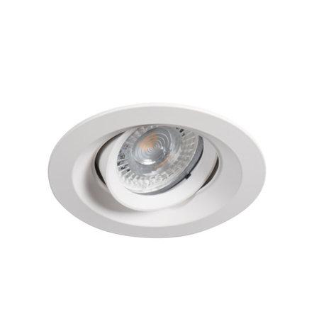 Philips LED Inbouwspot Davey - Dimbaar - Kantelbaar - Mat wit