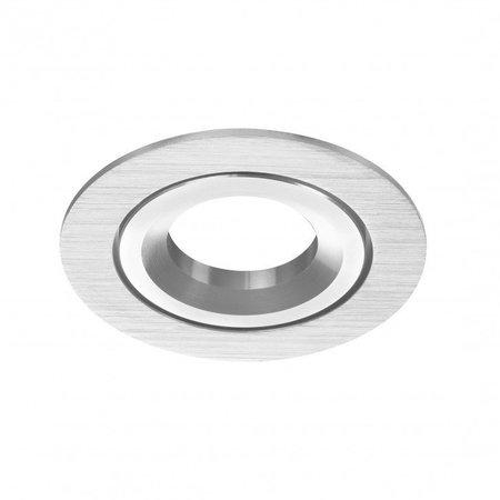 Philips LED Inbouwspot-  Doris - Dimbaar - Philips - Geborsteld Aluminium